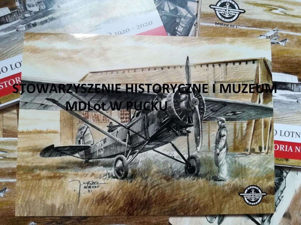 Samolot Lublin R Xiii Bis Nr 703 Puck 1934 R 7436869225 Oficjalne Archiwum Allegro