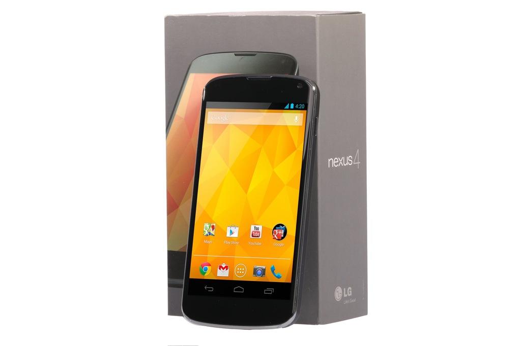 Telefon Smartfon Lg Nexus 4 8 Gb Swietny Stan 7048852647 Oficjalne Archiwum Allegro
