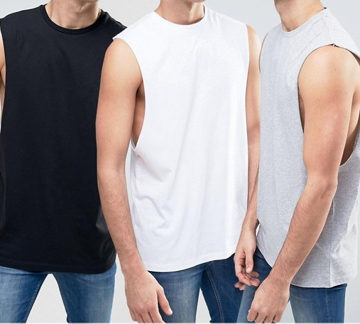 koszulka męska koszulki siłownia T shirt 3 pak M