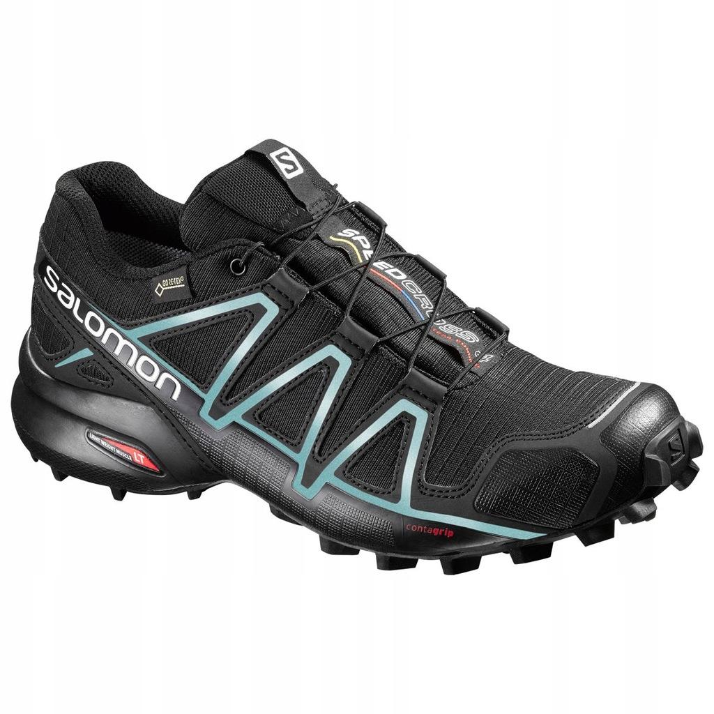 Nowe Buty Sportowe Damskie SALOMON SPEEDCROSS 4W Black