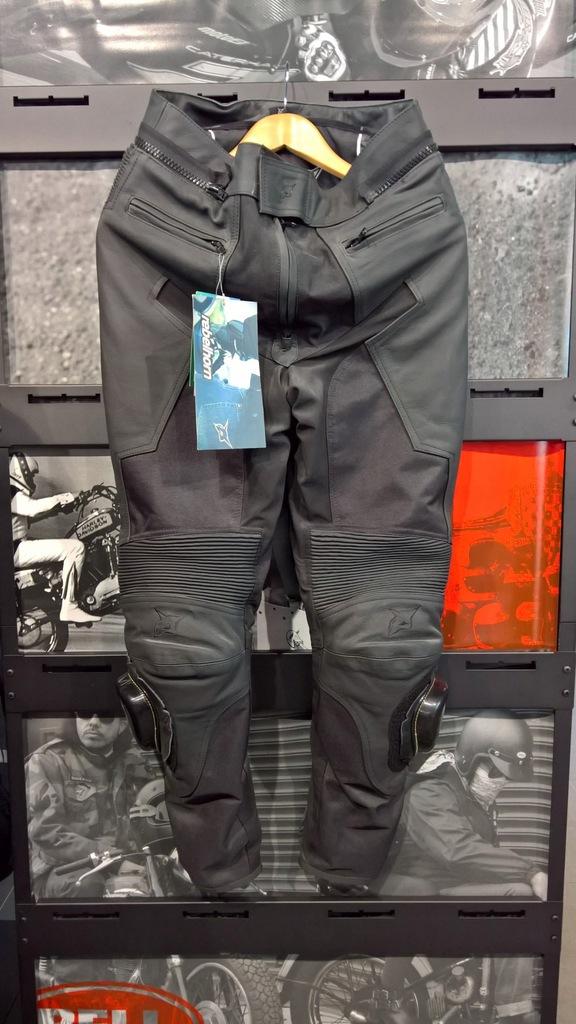 Spodnie skórzano-tekstylne Rebelhorn Hybrid roz.XL