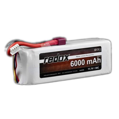 Akumulator REDOX LiPo 11,1V 6000mAh 3S 30C DEAN