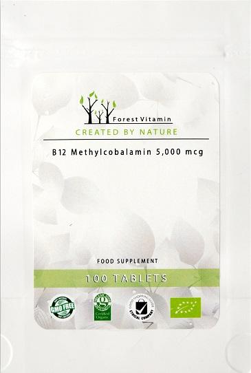FOREST WITAMINA B12 5000 METYLOKOBALAMINA 100tab
