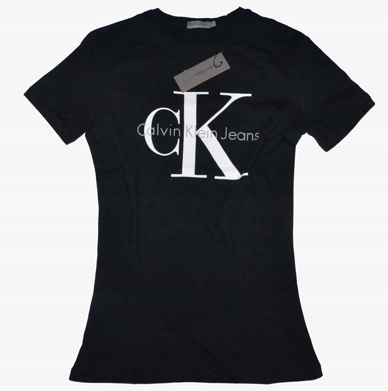 Nowy T Shirt Calvin Klein Rozmiar M 7634671826 Oficjalne Archiwum Allegro