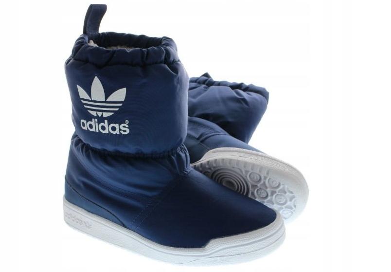 buty zimowe adidas slip on boot