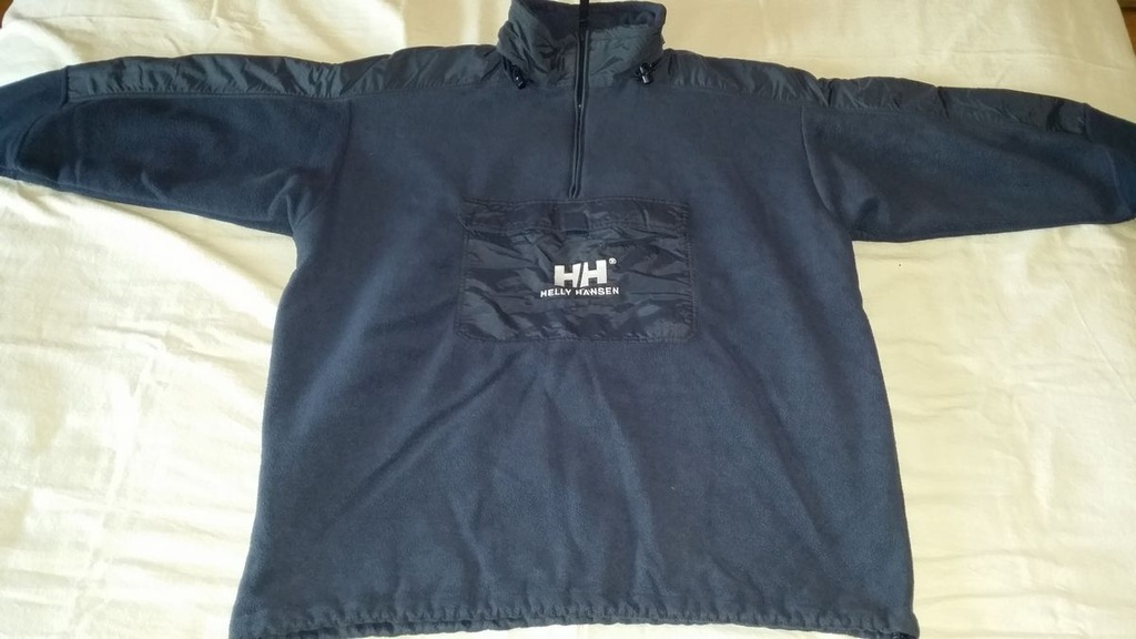 HELLY HANSEN polar z kapturem granatowy XL