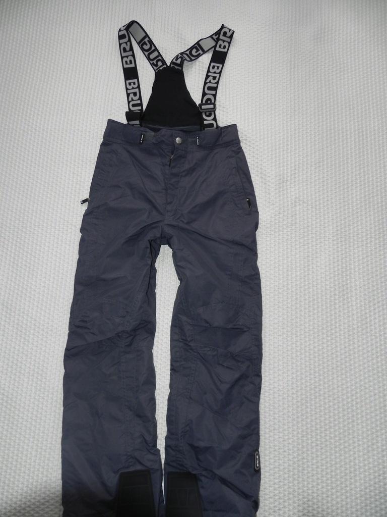 Spodnie Narciarskie Brugi 164 Cm 7733137977 Oficjalne Archiwum Allegro