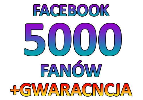 Facebook 5000 Polubienia Fanpage Like Lajki Fb 7233388883 Oficjalne Archiwum Allegro