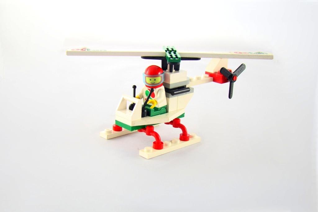 Lego City Miasto 6515 Stunt Copter