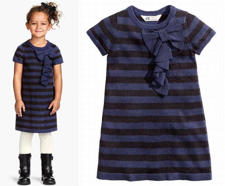 H&M Tunika sukienka BROKAT *98/104* 2-4l