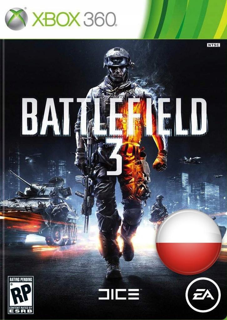 Xbox 360 One Battlefield 3 Po Polsku Warszawa 7548328243 Oficjalne Archiwum Allegro