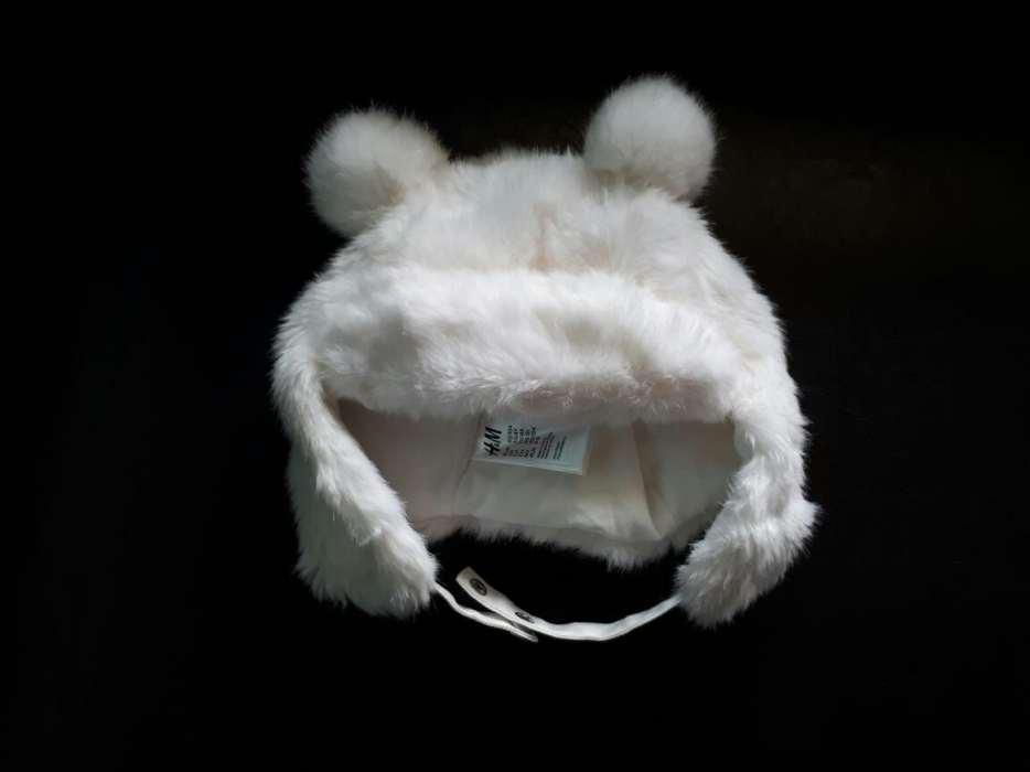 Jak NOWA H&M 92 / 104 miś czapka