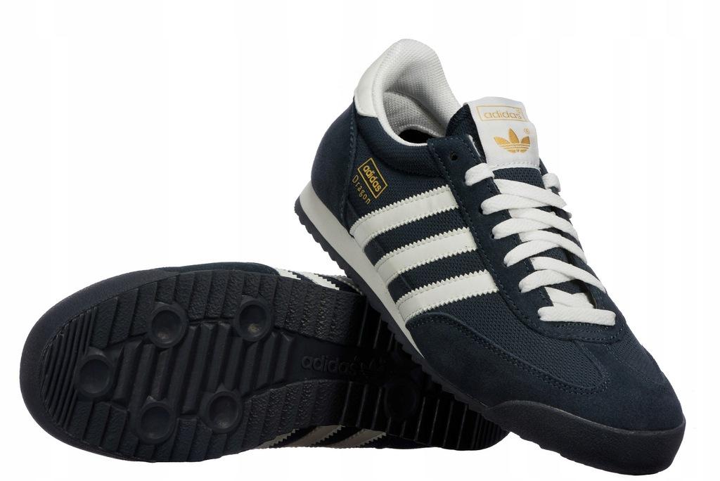 Buty Męskie Adidas DRAGON G50919 Granatowe r. 40.5