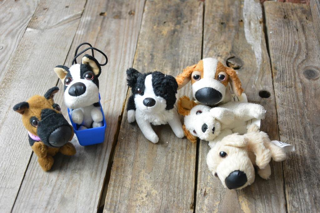 The Dog Kolekcja Malych Pluszakow Z Mcdonalds 7682360472 Oficjalne Archiwum Allegro