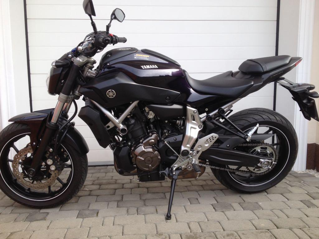 Motocykl Yamaha Mt 07 7229123061 Oficjalne Archiwum Allegro