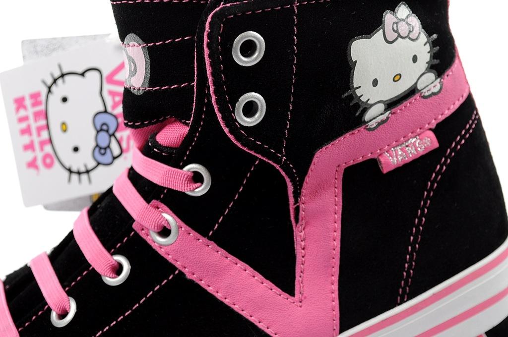 Buty trampki VANS Hello Kitty [SEJ9VL] r.30 skóra