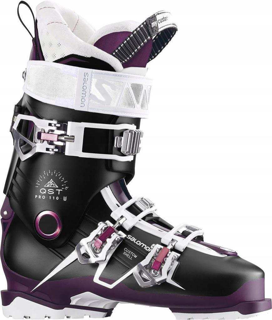 Buty narciarskie Salomon QST Pro 110 W Czarny 25 P