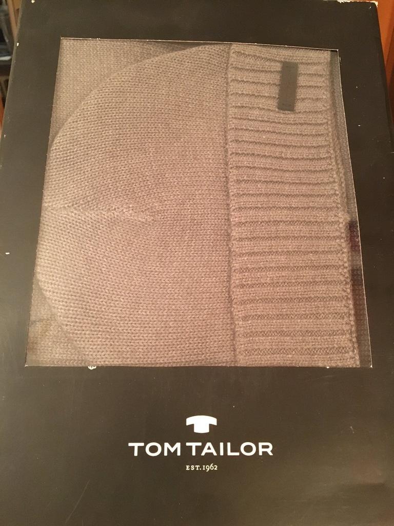 Nowe Czapka z szalikiem TOM TAILOR