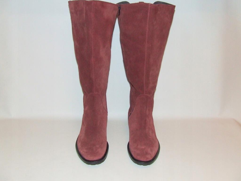 Buty ze skóry ULLA POPKEN r.40 dł.25,7 cm S.IDEALN