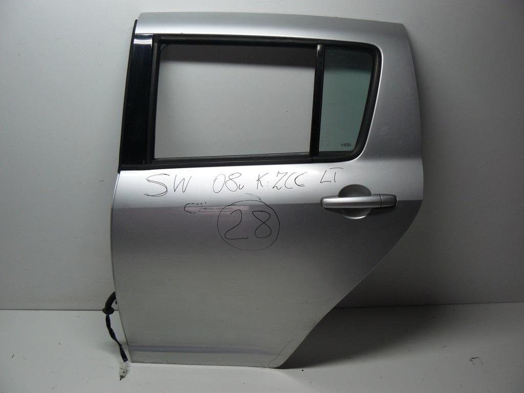 SUZUKI SWIFT MK6 2008R DRZWI LEWY TYŁ ZCC F-VAT