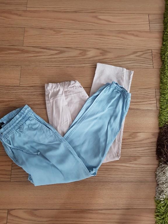 dwie pary spodni M