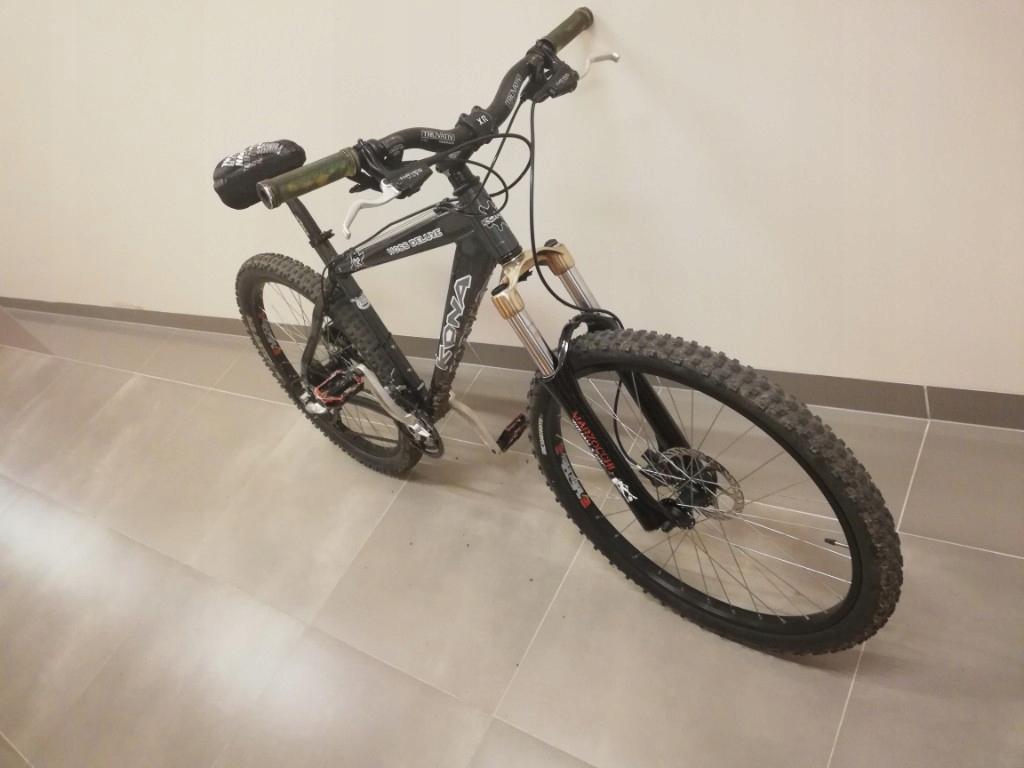 wyczynowy rower /DUAL KONA MARZOCCHI HAYES