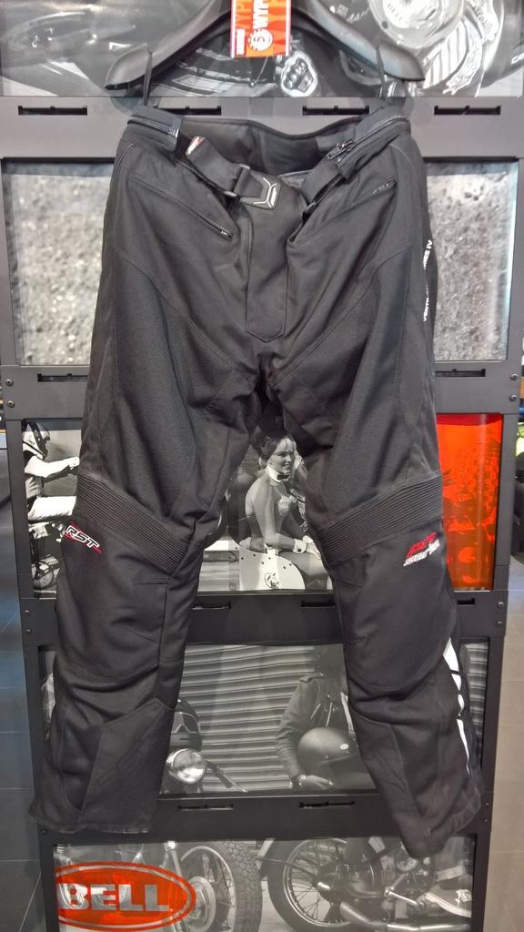 Spodnie tekstylne RST Ventilator IV Black roz. L