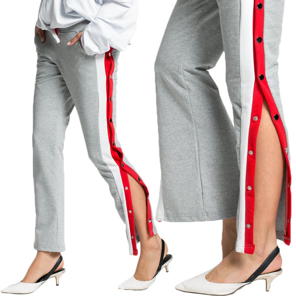 Spodnie rozpinane LAMPASY dresy new C39 KOLORY