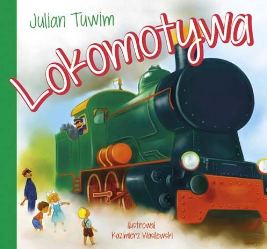 Lokomotywa Julian Tuwim Książka Kartonowa