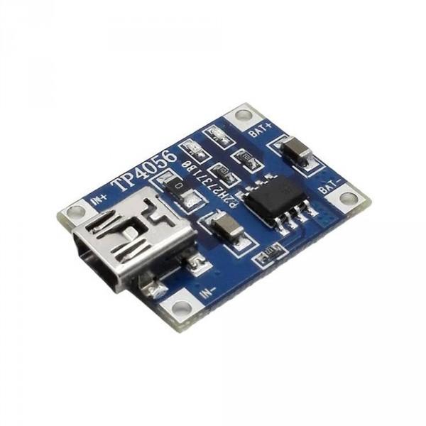 Ładowarka Li-on - przetwornica mini USB 18650