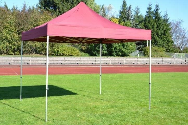 Namiot ogrodowy 3x3 m automatyczny Profi, bordowy