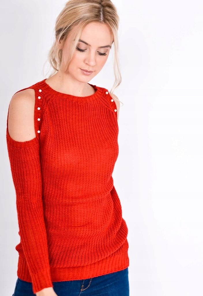 modne swetry damskie na drutach w trendy ALLANI