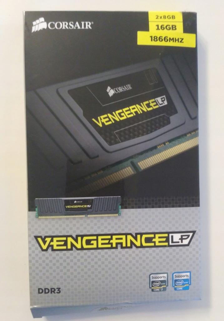 Corsair Vengeance LP DDR3 1866mhz 16GB 2x8 1.5V CM