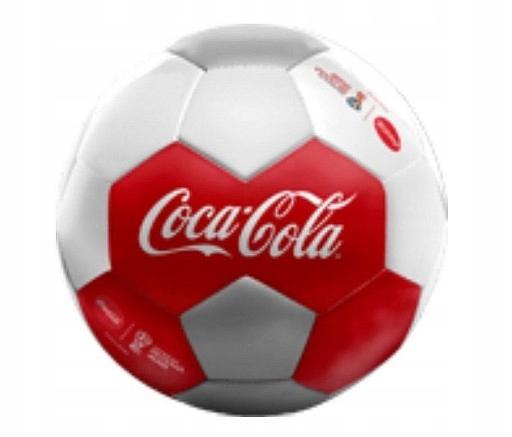 Pilka Coca Cola Mundial 2018 Russia 7533781808 Oficjalne Archiwum Allegro
