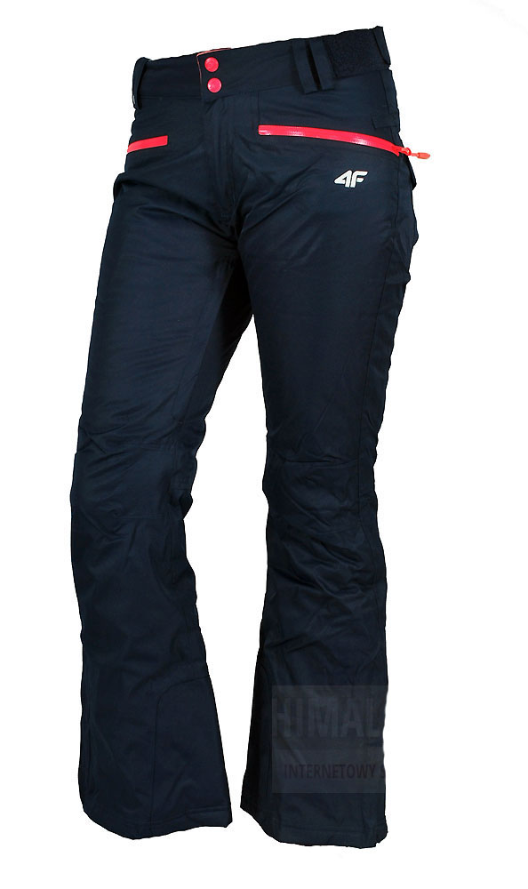 4f spodnie narciarskie damskie aquatech 5000 granat
