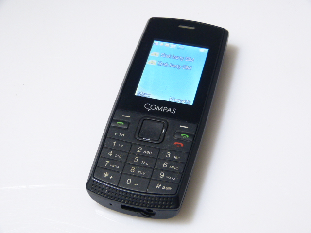 TELEFON KOMÓRKOWY COMPAS K1+