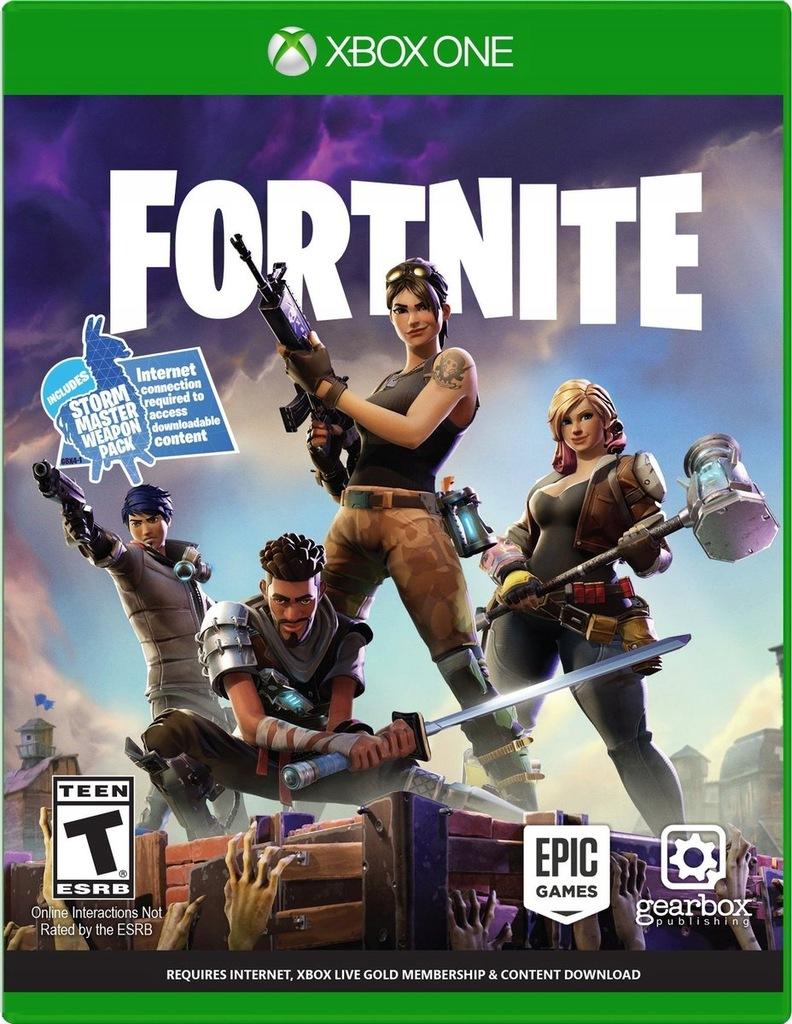 Fortnite Standard Edition Xbox One Gra Online 7641531806 Oficjalne Archiwum Allegro