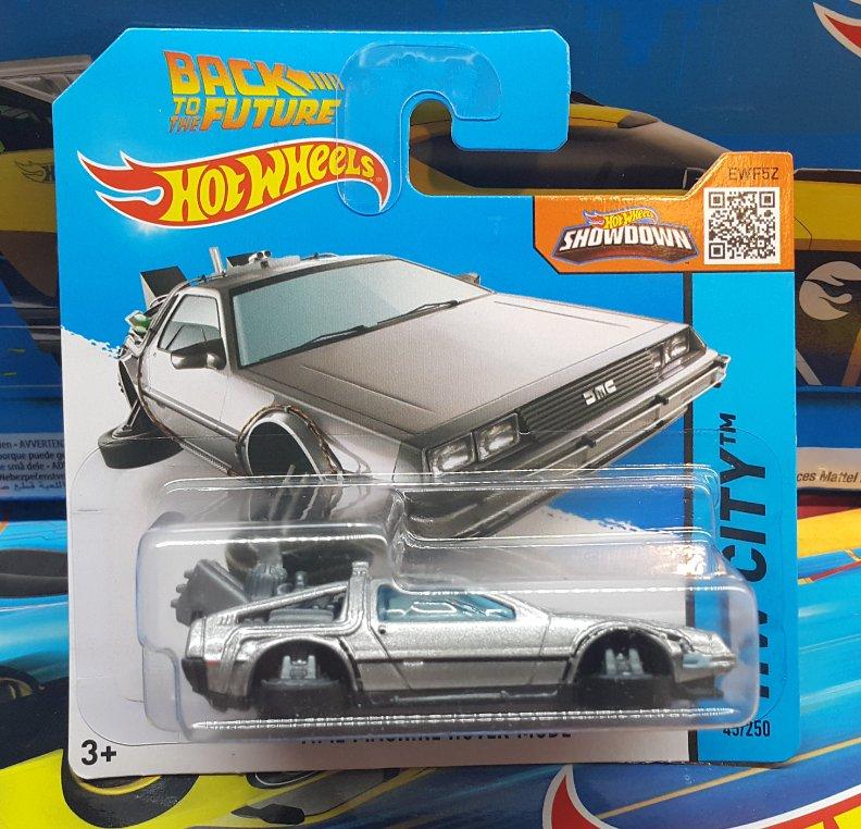 Nowe Hot Wheels Time Machine Hover Mode Delorean 7396814243 Oficjalne Archiwum Allegro