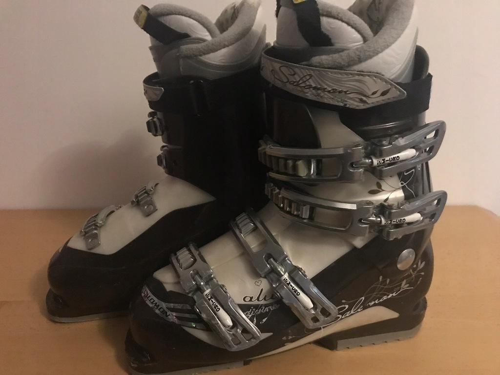 Buty narciarskie SALOMON DIVINE ALU dostawa GRATIS