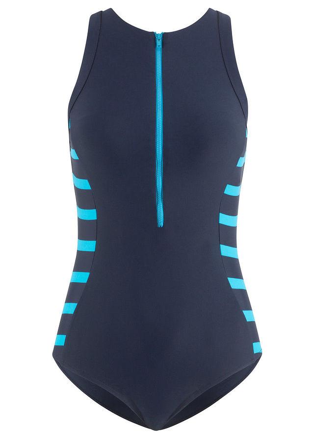 Kostium kąpielowy minimizer niebieski 40 L 930294