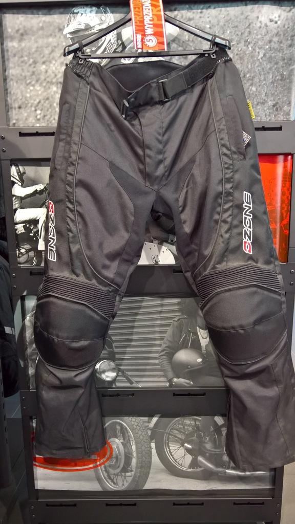 Spodnie tekstylne Ozone Yark Black roz. XXL