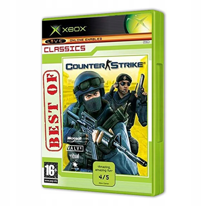 Counter Strike Xbox 7720813453 Oficjalne Archiwum Allegro