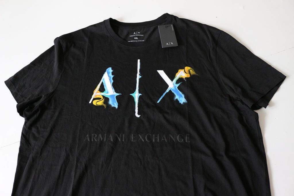 ARMANI EXCHANGE  t-shirt  rozm  XXL  ORYGINALNY