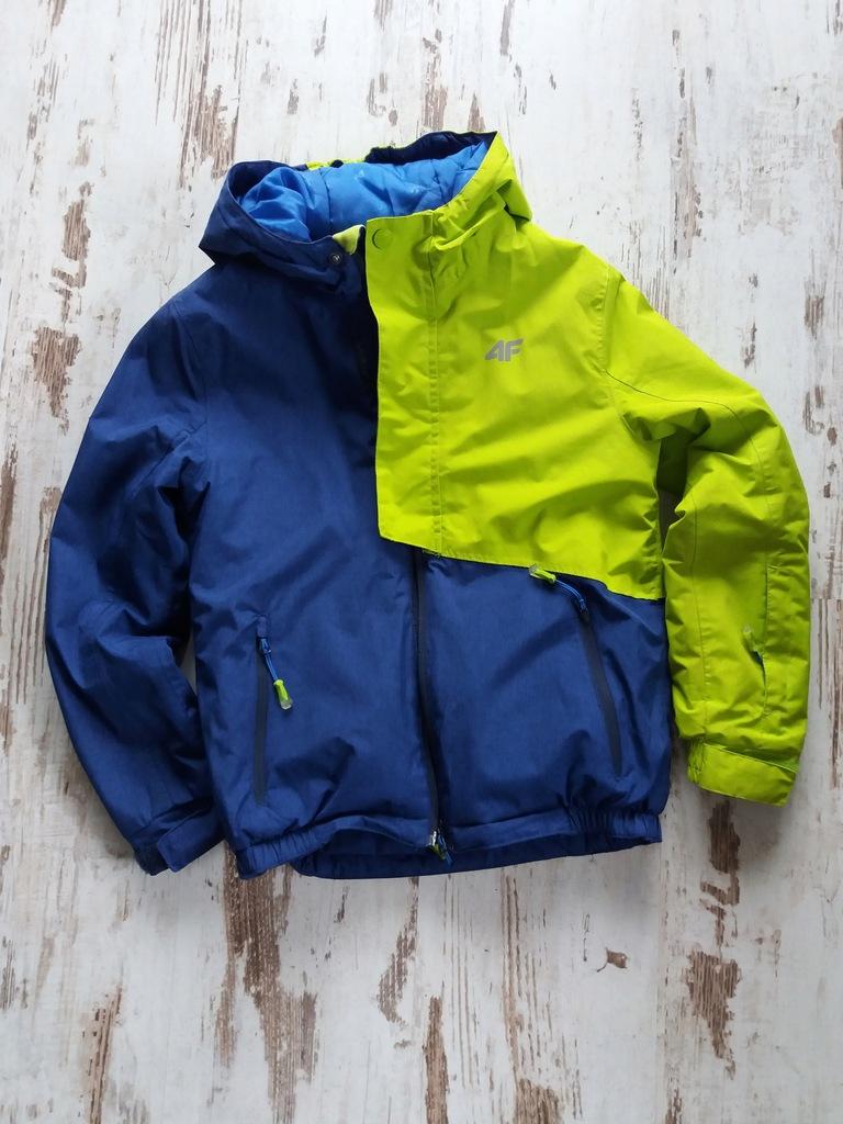dziecięca kurtka zimowa junior 4f jkudn001 kobalt