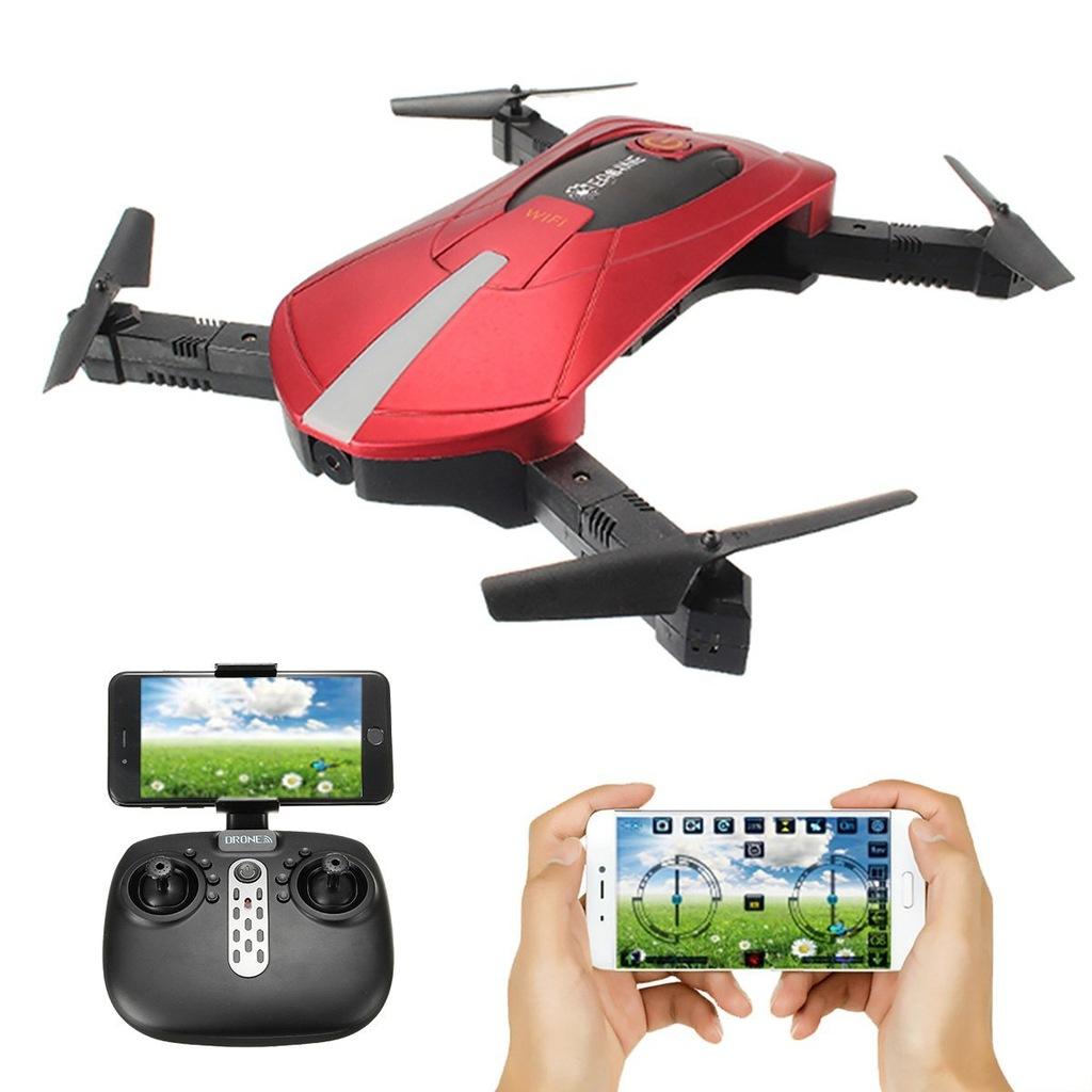 E361 DRON EACHINE E52 WIFI FPV Quadcopter 3D Flips