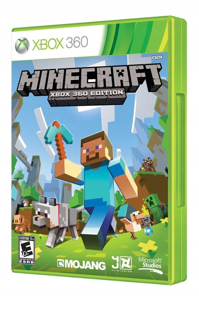 Minecraft Xbox 360 Gwarancja 7710746217 Oficjalne Archiwum Allegro