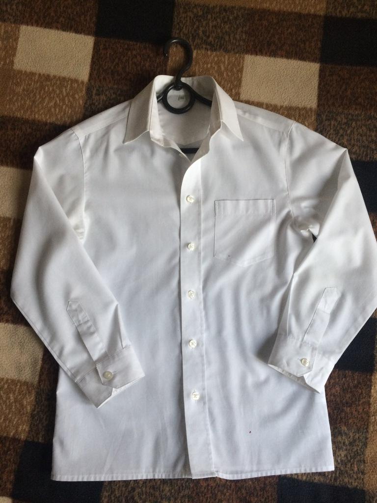 biała koszula rozm. 140 z C&A