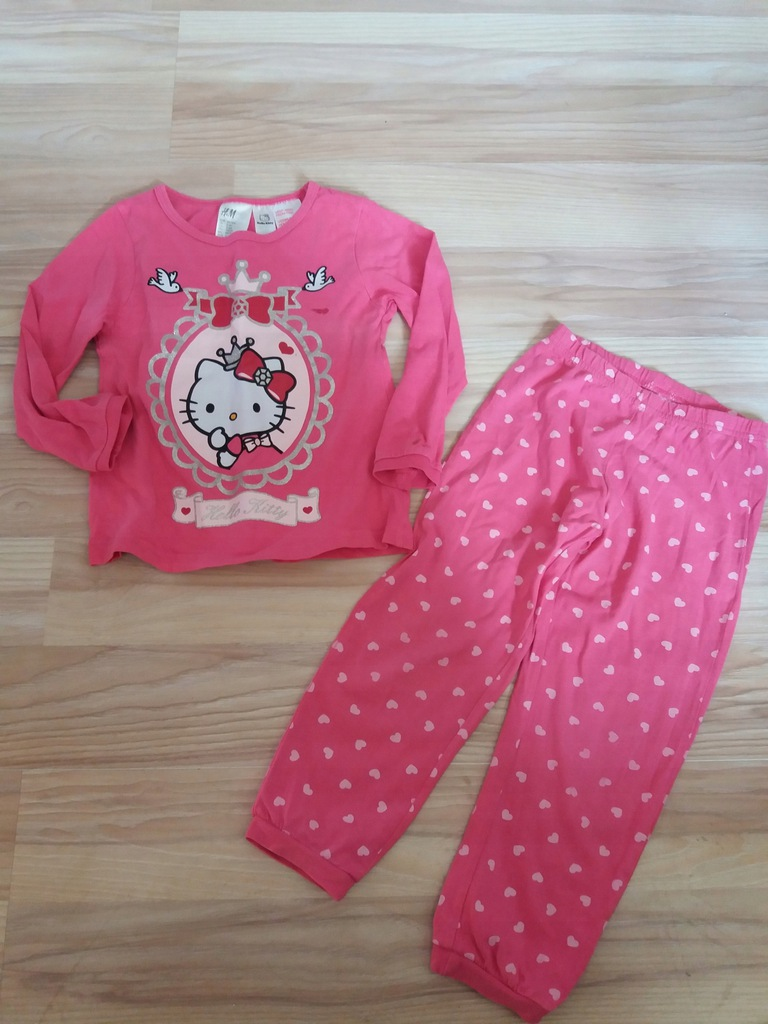 H&M, piżama HELLO KITTY, 104