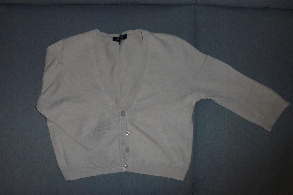 BOLERKO New Look 12 beżowy krótki rękaw