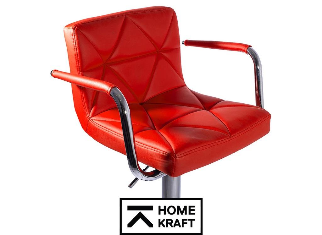 Hoker krzesło barowe obrotowe Malvy Homekraft 2szt Hokery